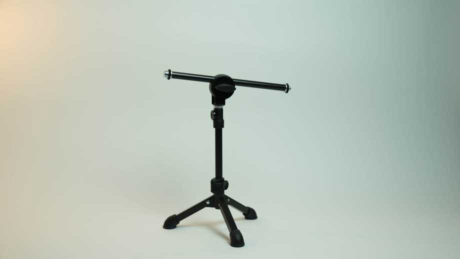 photo of microphone boom
